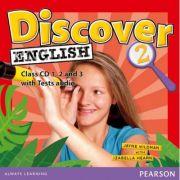 Discover English Level 2 Class Audio CDs - Izabella Hearn