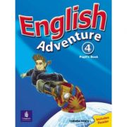 English Adventure, Pupils Book, Level 4, Plus Reader - Izabella Hearn
