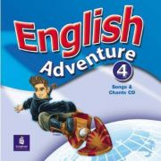 English Adventure, Songs and Chants CD, Level 4 - Hearn Izabella