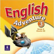 English Adventure, Songs CD, Level 3