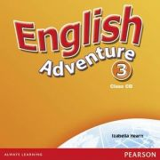 English Adventure Level 3 Class CD - Izabella Hearn