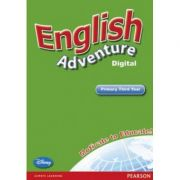 English Adventure Level 3 Interactive White Board CD-ROM