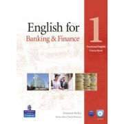 English for Banking and Finance 1 Book with CD-ROM. Vocational English Series - Rosemary Richey