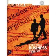 English For Work Everyday Business English Book and Audio CD - Ian Badger