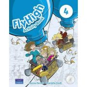 Fly High Level 4 Activity Book and CD ROM Pack - Jeanne Perrett