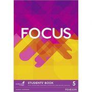 Focus BrE 5 Student's Book Paperback - Sue Kay