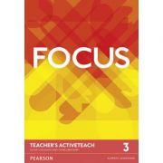Focus British English Level 3 Teacher's ActiveTeach - Sue Kay