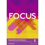 Focus British English Level 5 Teacher's ActiveTeach - Sue Kay