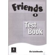 Friends Level 2 Test Book - Ela Lesnikowska