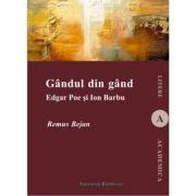 Gandul din gand. Edgar Poe si Ion Barbu - Remus Bejan