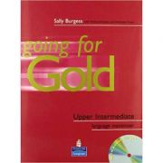 Going for Gold Upper-Intermediate Language Maximiser No Key and CD Pack - Sally Burgess