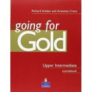 Going for Gold Upper Intermediate-Coursebook, Manual pentru limba engleza clasa a IX-a