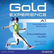 Gold Experience A1 Class Audio CDs - Rose Aravanis