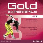 Gold Experience B1 Class Audio CDs - Carolyn Barraclough