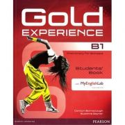 Gold Experience B1 Students' Book with DVD-ROM and MyLab Pack - Carolyn Barraclough