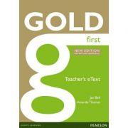 Gold First New Edition eText Teacher CD-ROM - Jan Bell