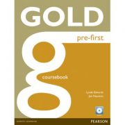Gold Pre-First Coursebook and CD-ROM Pack - Jon Naunton