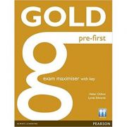 Gold Pre-First Maximiser with Key - Helen Chilton