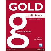 Gold Preliminary Maximiser without Key - Sally Burgess