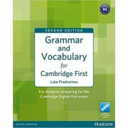 Grammar and Vocabulary for FCE 2nd Edition without key plus access to Longman Dictionaries Online - Luke Prodromou