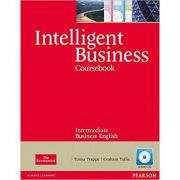 Intelligent Business Intermediate Course Book with Audio CD - Tonya Trappe