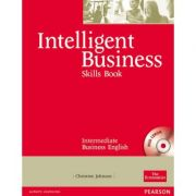 Intelligent Business Intermediate Skills Book with CD-ROM - Christine Johnson