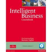 Intelligent Business Pre-intermediate Course Book with Class Audio CD - Christine Johnson