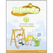 Islands handwriting Level 1 Activity Book plus pin code Paperback - Susannah Malpas