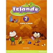 Islands Level 2 Pupil's Book plus pin code - Susannah Malpas
