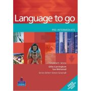 Language to go Pre-intermediate Students' Book with Phrasebook - Gillie Cunningham