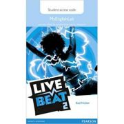 Live Beat 2 MyEnglishLab Students' Access Card - Rod Fricker
