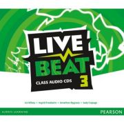 Live Beat 3 Class Audio Cds - Liz Kilbey