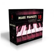 Mari pianisti ai secolului XX (18 audio CD). Inregistrari de colectie. Cutie cadou