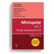 Minispete. Vol. II. Drept procesual civil. Ed. a II-a - Evelina Oprina
