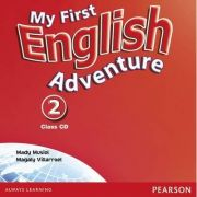 My First English, Class CD, Adventure 2