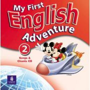 My First English Adventure, Songs CD, Level 2