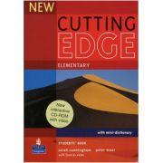 New Cutting Edge Elementary Students Book and CD-Rom Pack - Sarah Cunningham