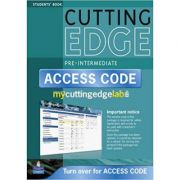New Cutting Edge Pre-Intermediate Coursebook with CD-Rom and MyLab Access Card Pack - Peter Moor