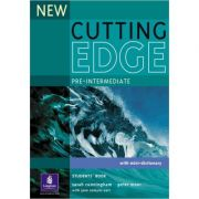 New Cutting Edge Pre-intermediate Students' Book New Edition - Sarah Cunningham