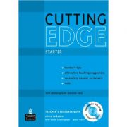 New Cutting Edge Starter Teacher's Resource Book with Test Master CD-ROM - Sarah Cunningham