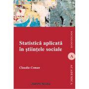 Statistica aplicata in stiintele sociale - Claudiu Coman