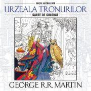 Urzeala tronurilor. Carte de colorat - George RR Martin