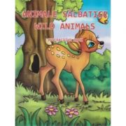 Wild animals. Animale salbatice. Interactive book