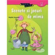 Scenete si jocuri de mima - Brigitte Saussard