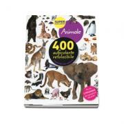 Animale - 400 de autocolante refolosibile, inspirate din natura