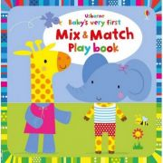 Baby's Very First Mix and Match Playbook - Carte Usborne (2+)