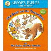 Bear and the Travellers with ThThee Ducks and the Tortoise - Aesop's Fables