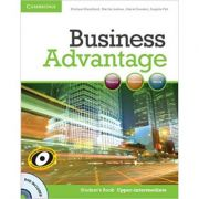 Business Advantage: Upper-intermediate - Student's Book (Book with DVD)