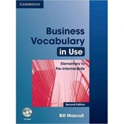 Business Vocabulary in Use: Elementary to Pre-intermediate (with Answers and CD-ROM)