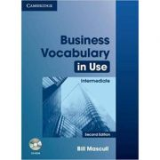 Business Vocabulary in Use: Intermediate- Second Edition (with Answers and CD-ROM)